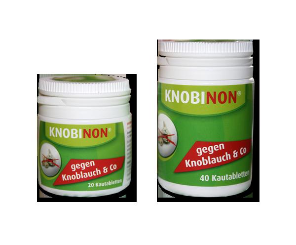 KNOBINON gegen Knoblauch- & Mundgeruch