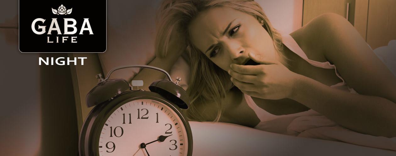 GABA LIFE Night bei Ein- oder Durchschlafstörungen