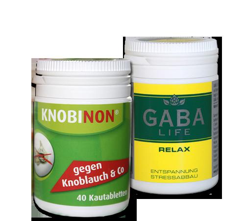 GABA LIFE Relax (Stressabbau und Entspannung) & Night (bei Ein- oder Durchschlafstörungen)